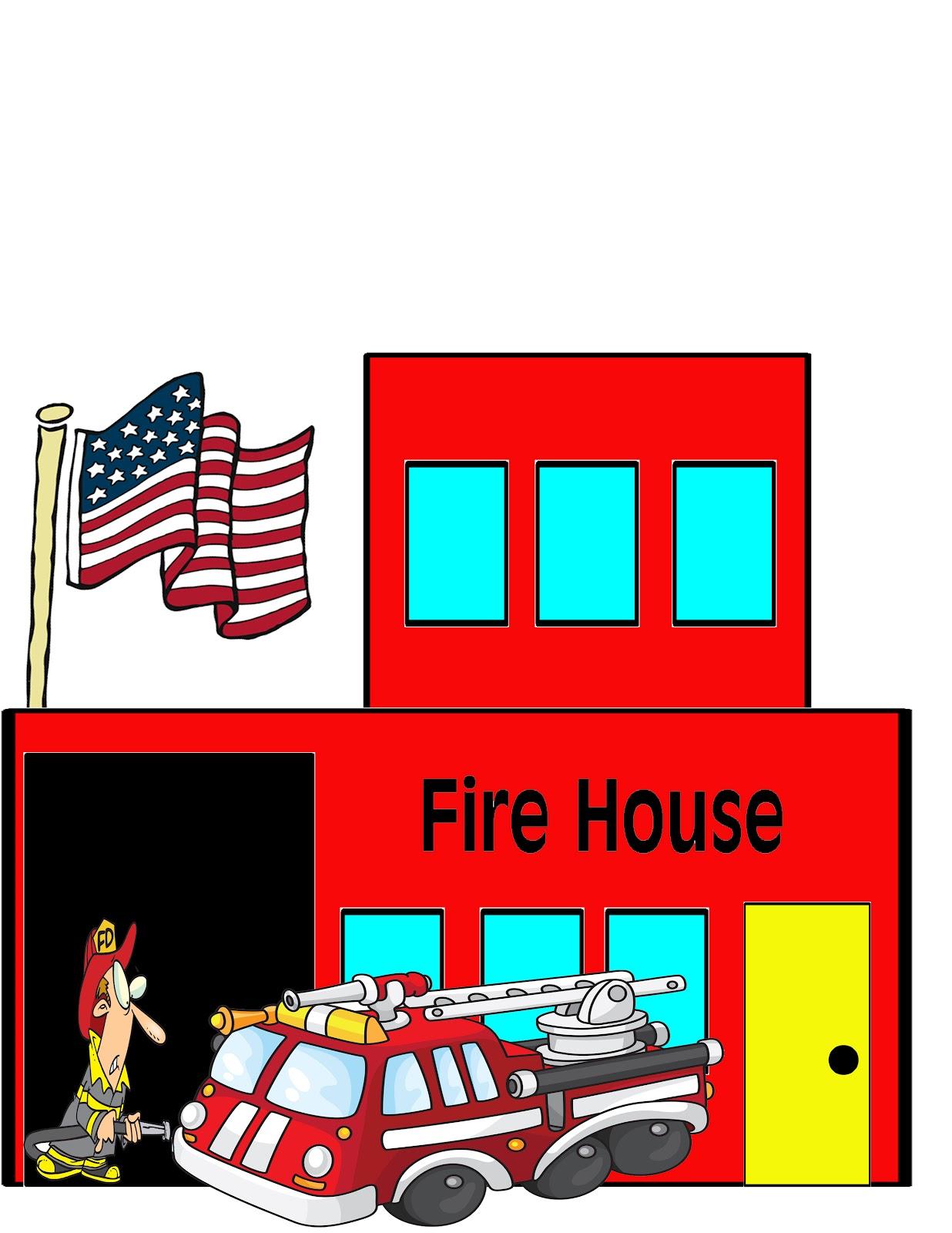 house fire clipart clipart suggest firehouse clipart free School Bus Clip Art