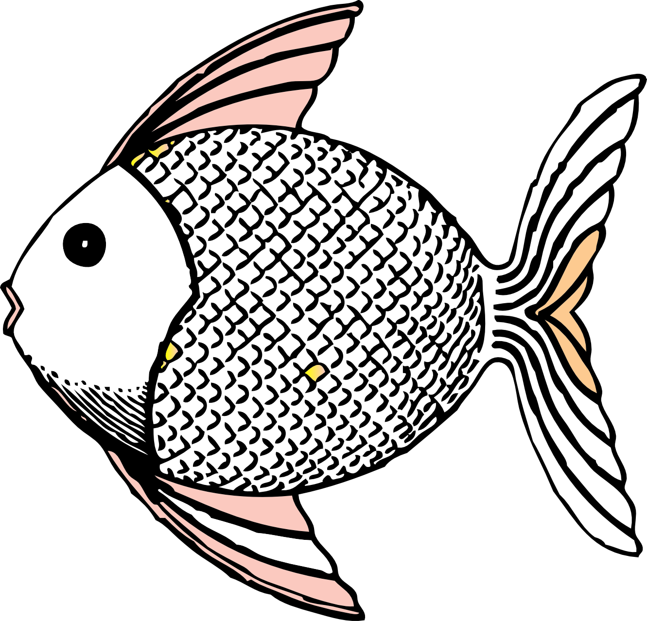 Fish Black And White Clipart   Clipart Panda   Free Clipart Images