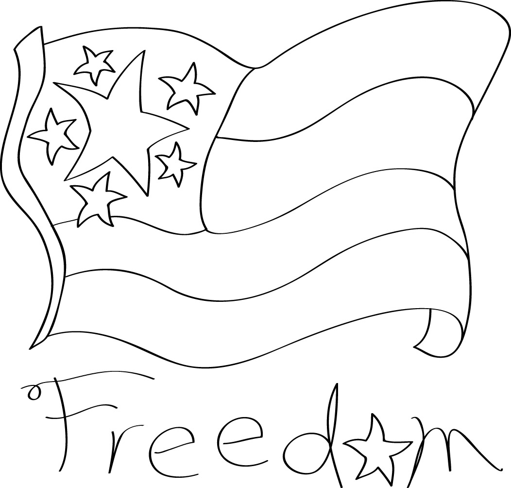 Flag Freedom   Craft   Stitching Clipart