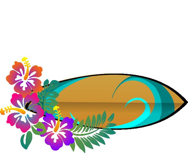 Leis Luau Party Clip Art