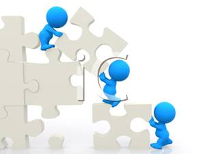 Teamwork Puzzle Clipart   Clipart Panda   Free Clipart Images