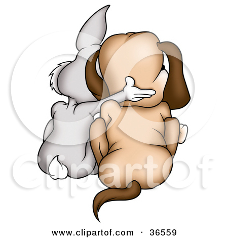 Two Dogs Together Clipart Preview Clipart