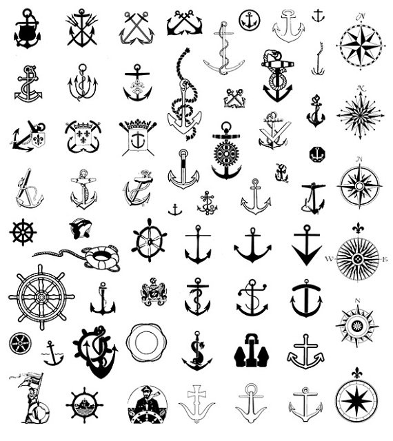 00 Scrapbook Clipart Nautical Clip Art 570640 Nautical Clips