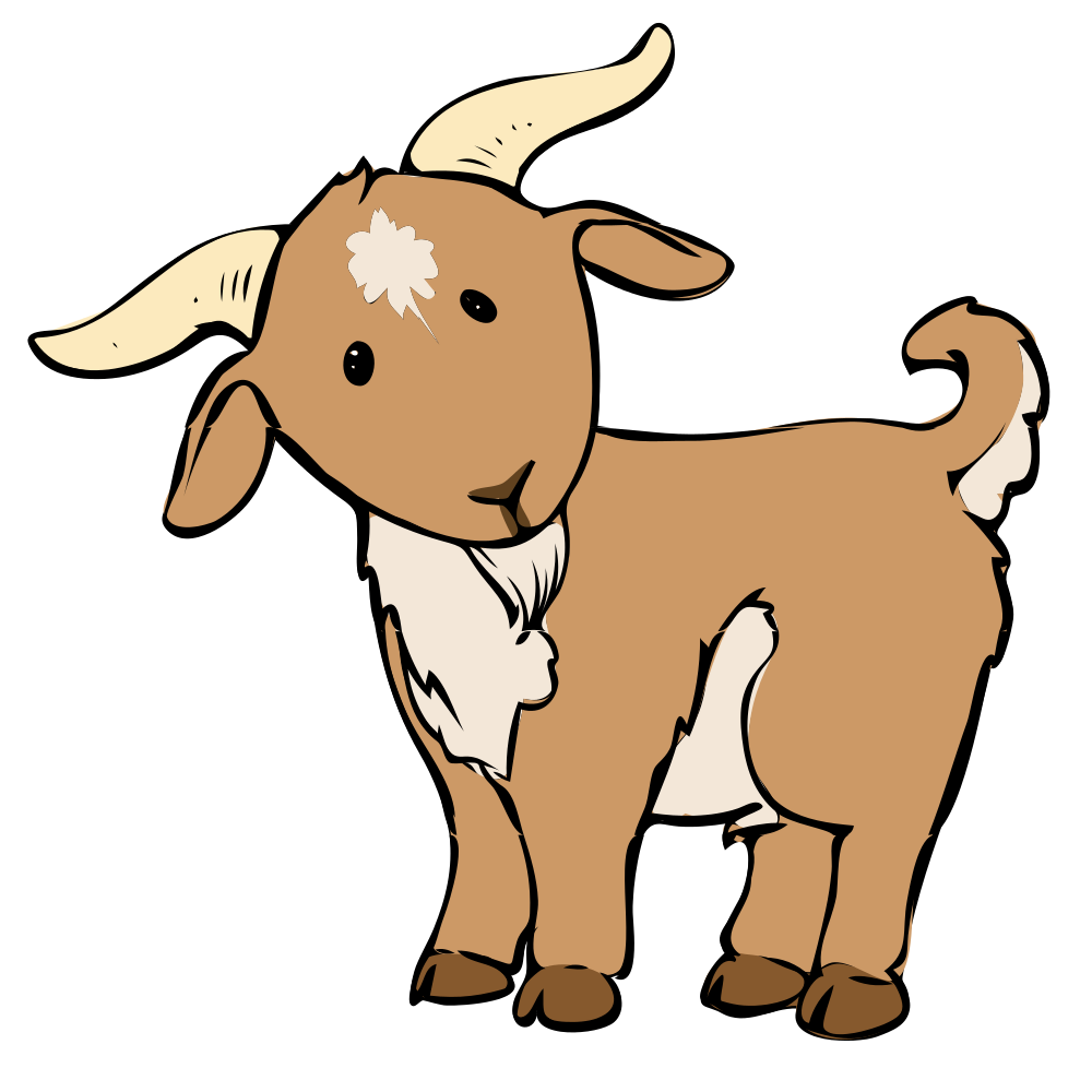 Goat Clipart - Clipart Kid