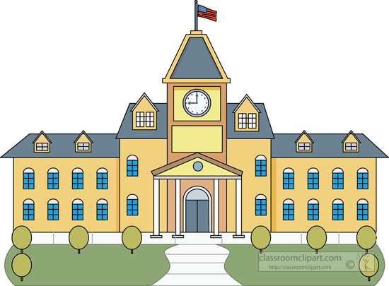 Cartoon College Building college building clipart - clipart kid