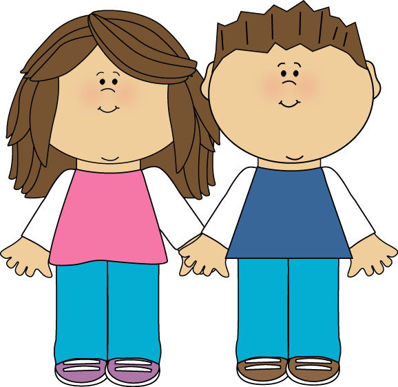 Brother And Sister Clip Art
