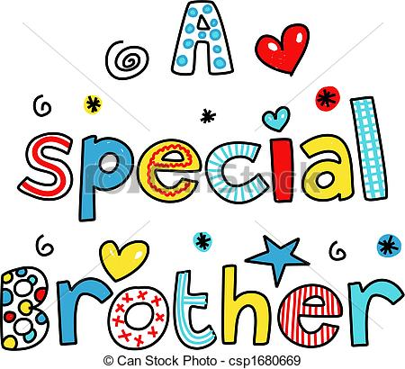 Brother Clipart
