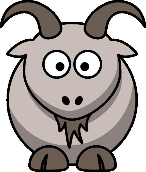 Cartoon Goat Clip Art At Clker Com   Vector Clip Art Online Royalty
