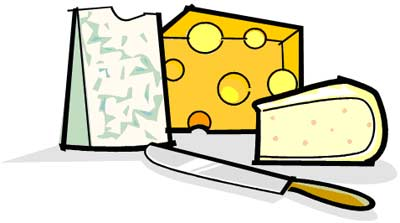 Cheeses Clipart   Cheddar Swiss Mozarella Cheese