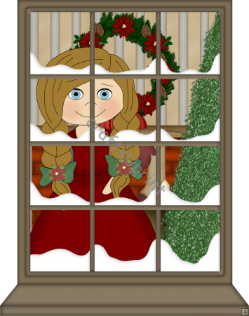 Christmas Window Clipart Christmas Window Clipart Royalty Free