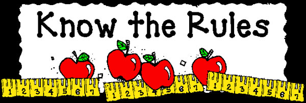 Elementary Classroom Clipart ~ School rules clipart suggest