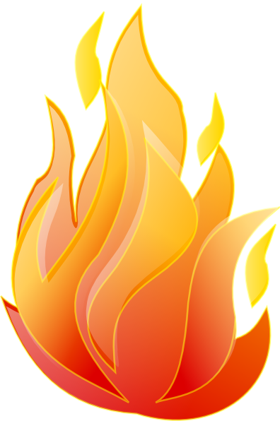 Clean Fire Clip Art At Clker Com   Vector Clip Art Online Royalty