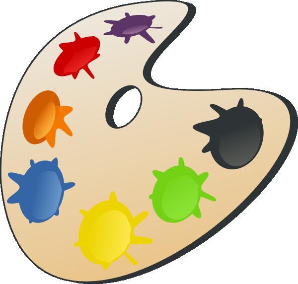Clip Art Color Clipart color yellow clipart kid palette clip art at clker com vector online royalty