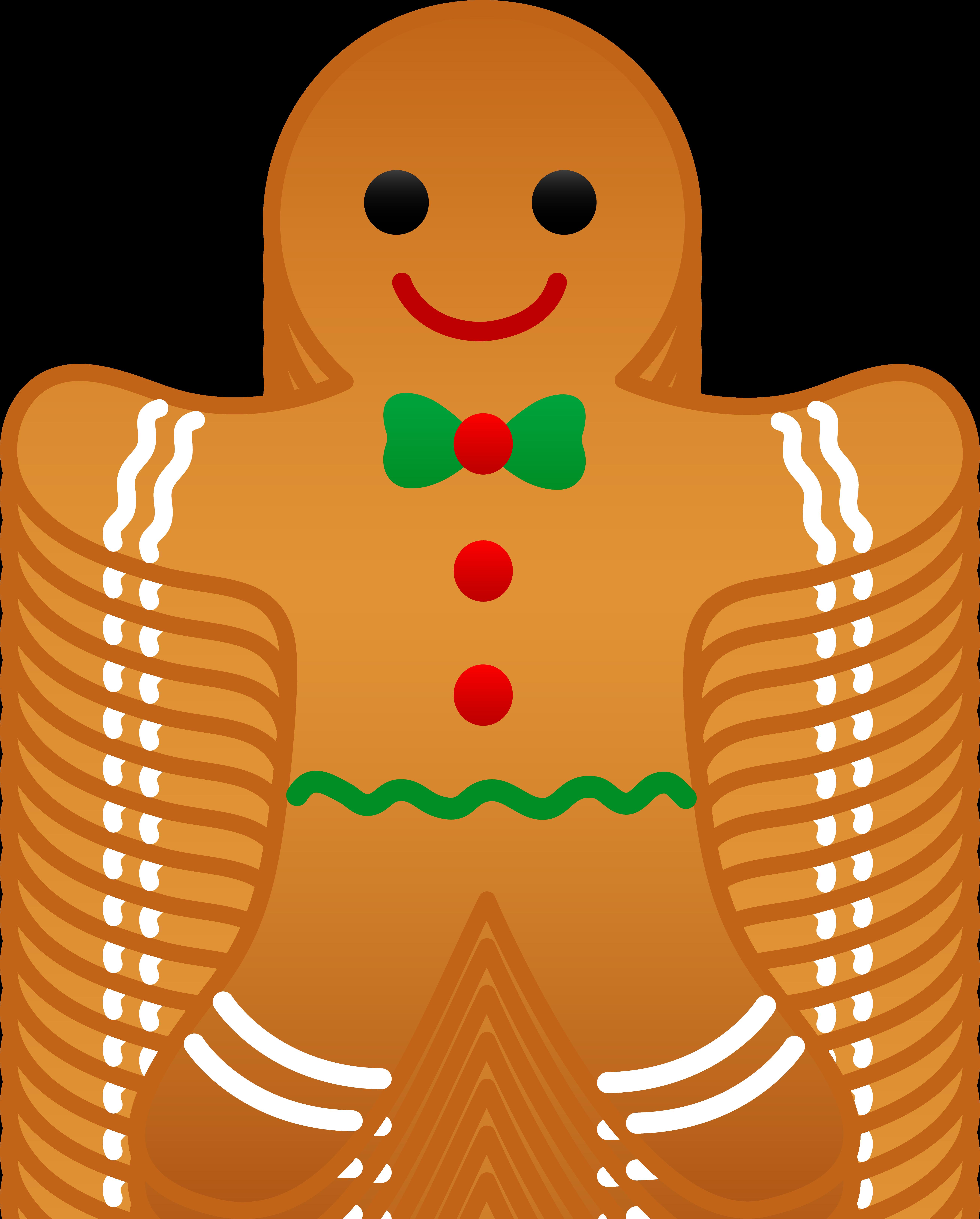 Cookies Clip Artchristmas Gingerbread Man Free Clip Art Bpr3sjis Png