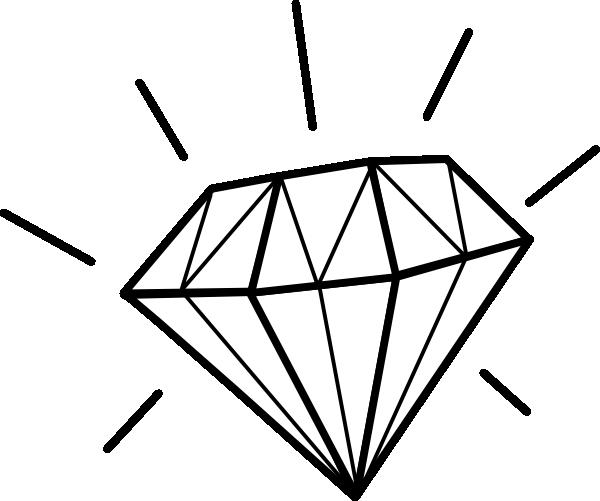 Diamond Clip Art At Clker Com Vector Clip Art Online Royalty Free