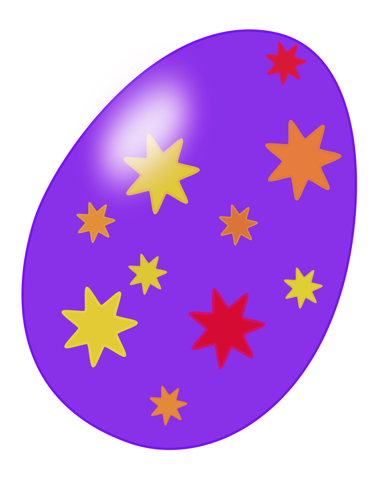 Easter Eggs Clip Art   Images   Free For Commercial Use