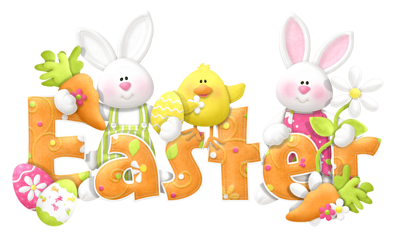 Cute Easter Bunny Clipart - Clipart Kid