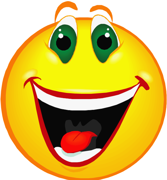Excited Happy Face Clip Art