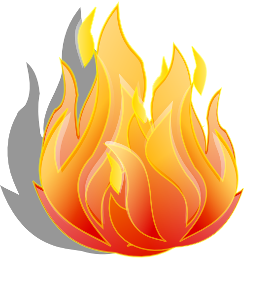 Fire Clip Art At Clker Com   Vector Clip Art Online Royalty Free