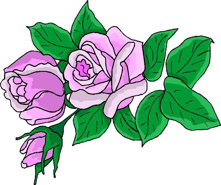 Flower Clipart   Beautiful Purple Free Clipart