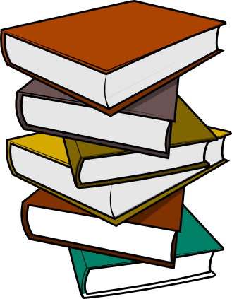 Free Stack Of Books Clip Art