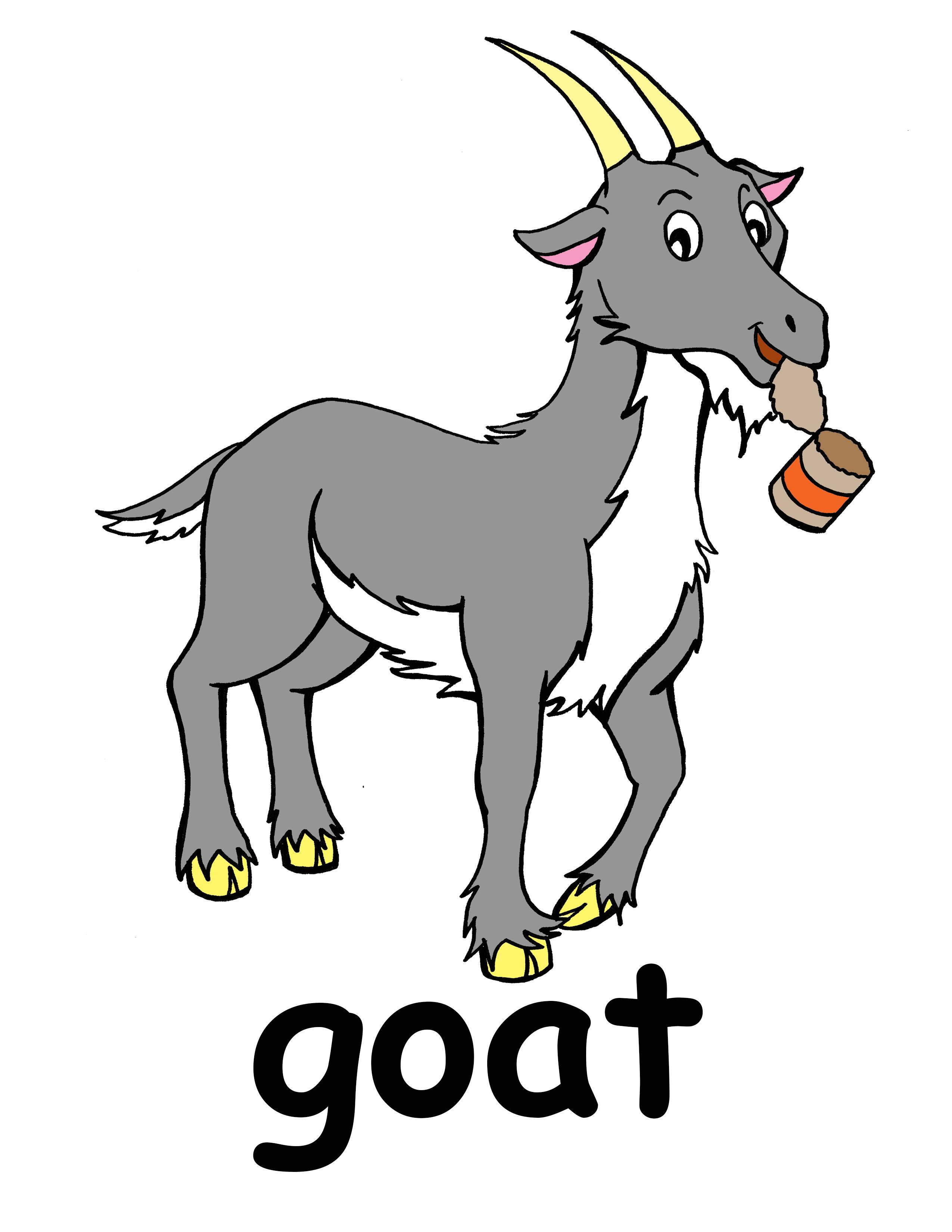 Goat Clip Art Cartoon Goat Clip Art Mountain Goat Clip Art Goat