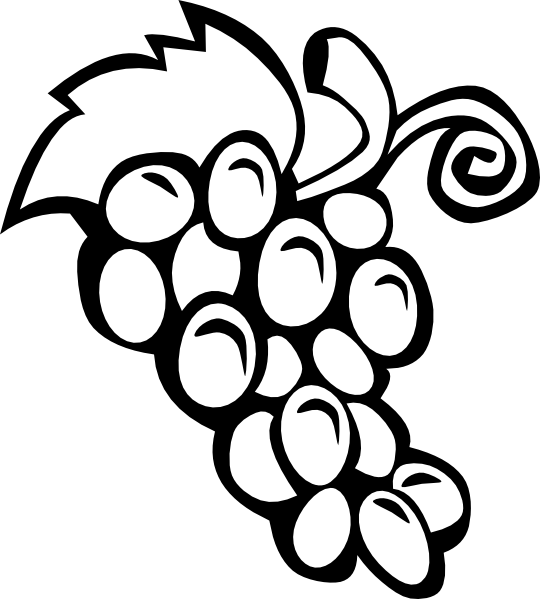 Grapes Clip Art At Clker Com   Vector Clip Art Online Royalty Free