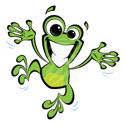 Happy Frog Clipart - Clipart Kid