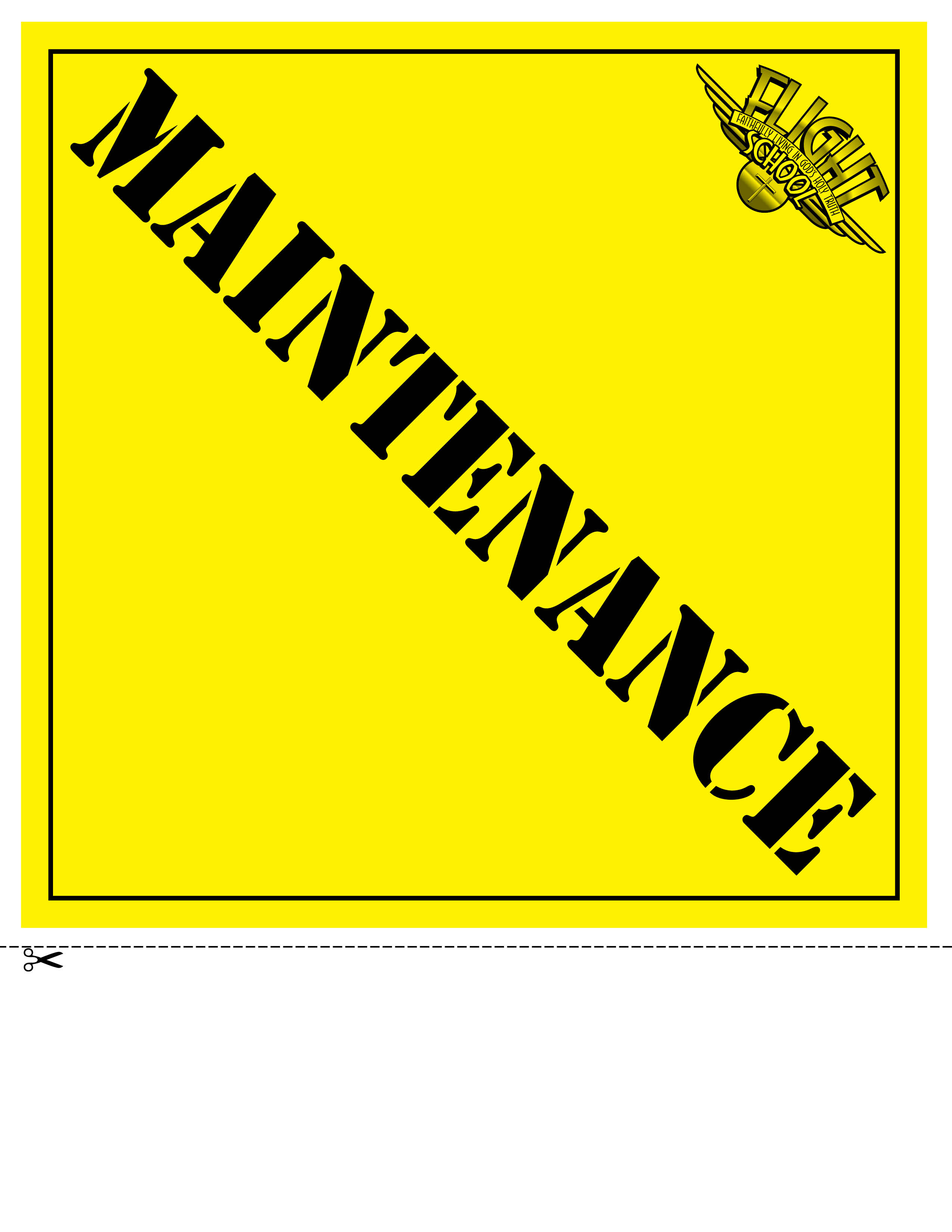 Maintenance Pictures Clip Art Http   Truthquest Net Flight School
