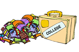 Going to College Clip Art