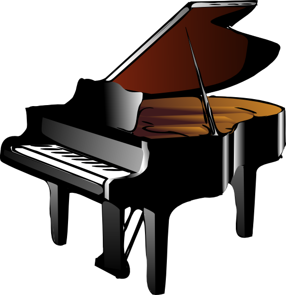 Piano Clip Art At Clker Com   Vector Clip Art Online Royalty Free