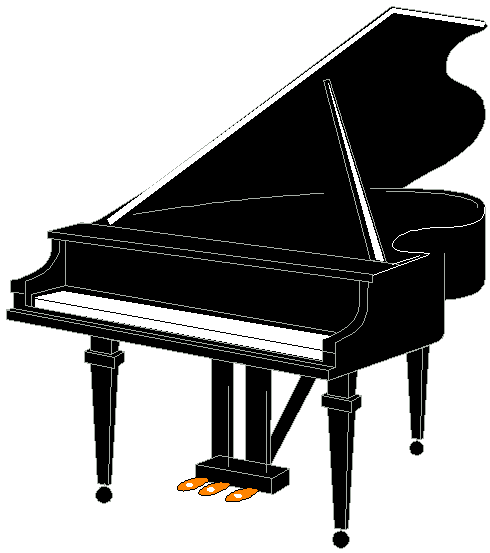 Piano Clipart Black And White   Clipart Panda   Free Clipart Images