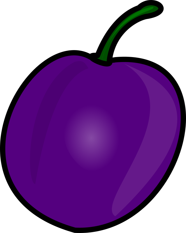 Plum By Nicubunu   A Plum Fruit