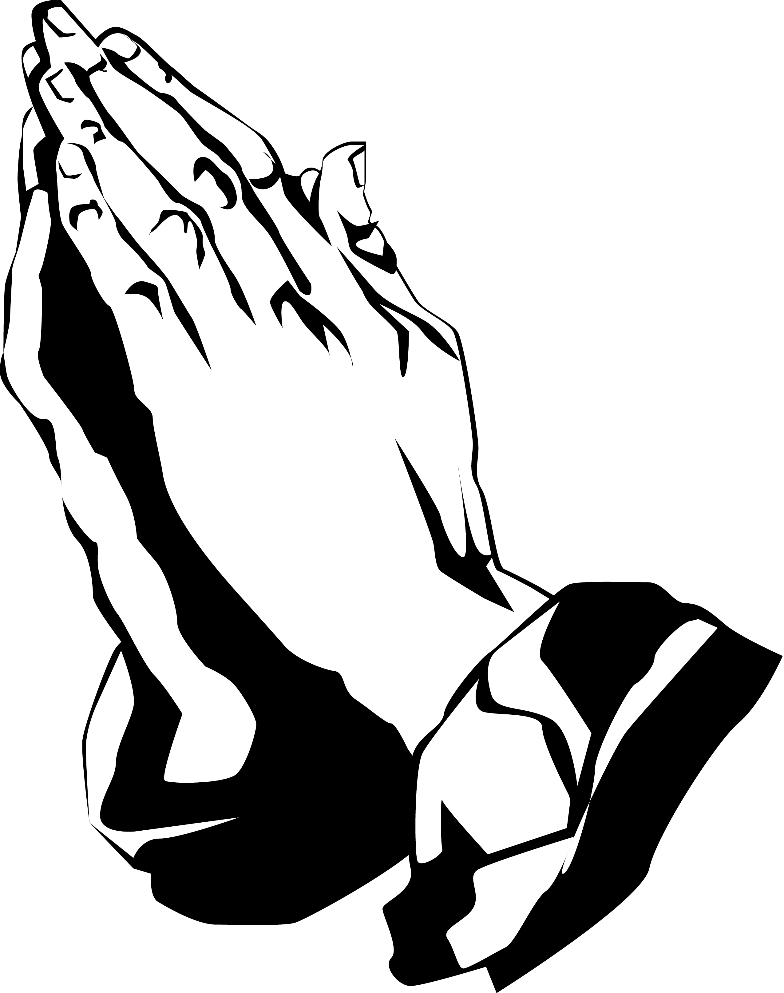 Prayer Hands Clipart   Clipart Panda   Free Clipart Images