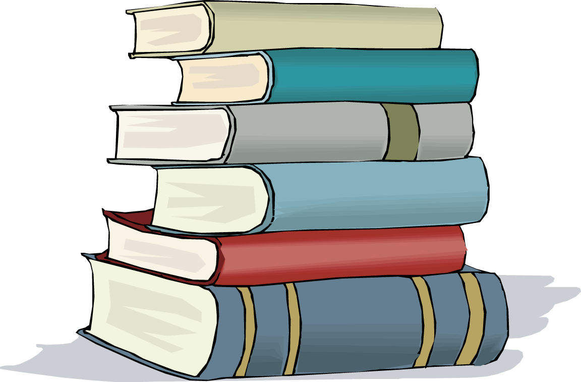 Stack Of Books Clip Art