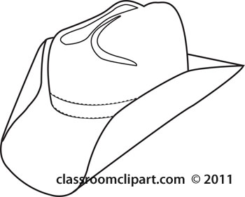 Western Hat Clipart - Clipart Kid