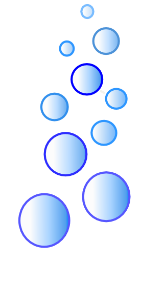 More Blue Bubbles Clip Art At Clker Com   Vector Clip Art Online