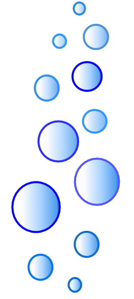 More N More Blue Bubbles Clip Art At Clker Com   Vector Clip Art