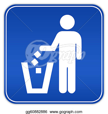 No Littering Sign Clipart No Littering Sign