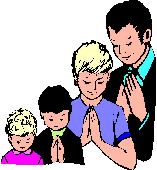 Prayer Group Clipart Family Prayer Clipart