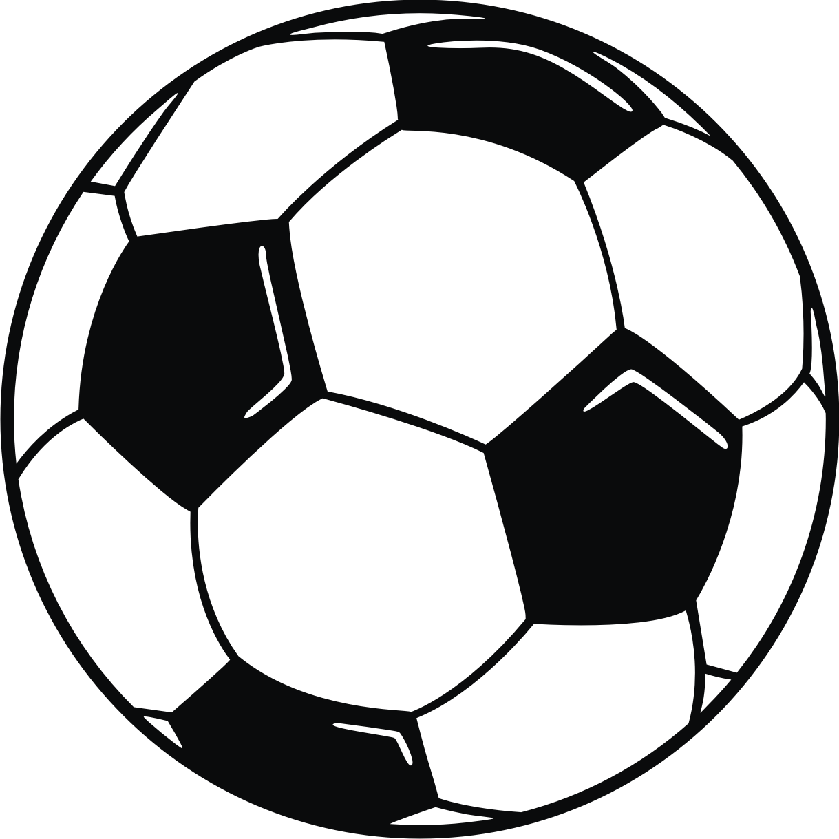 Soccer Border Clipart - Clipart Kid