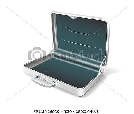 Vector Clipart Of Business Case   Case Businessman Is Shown In The