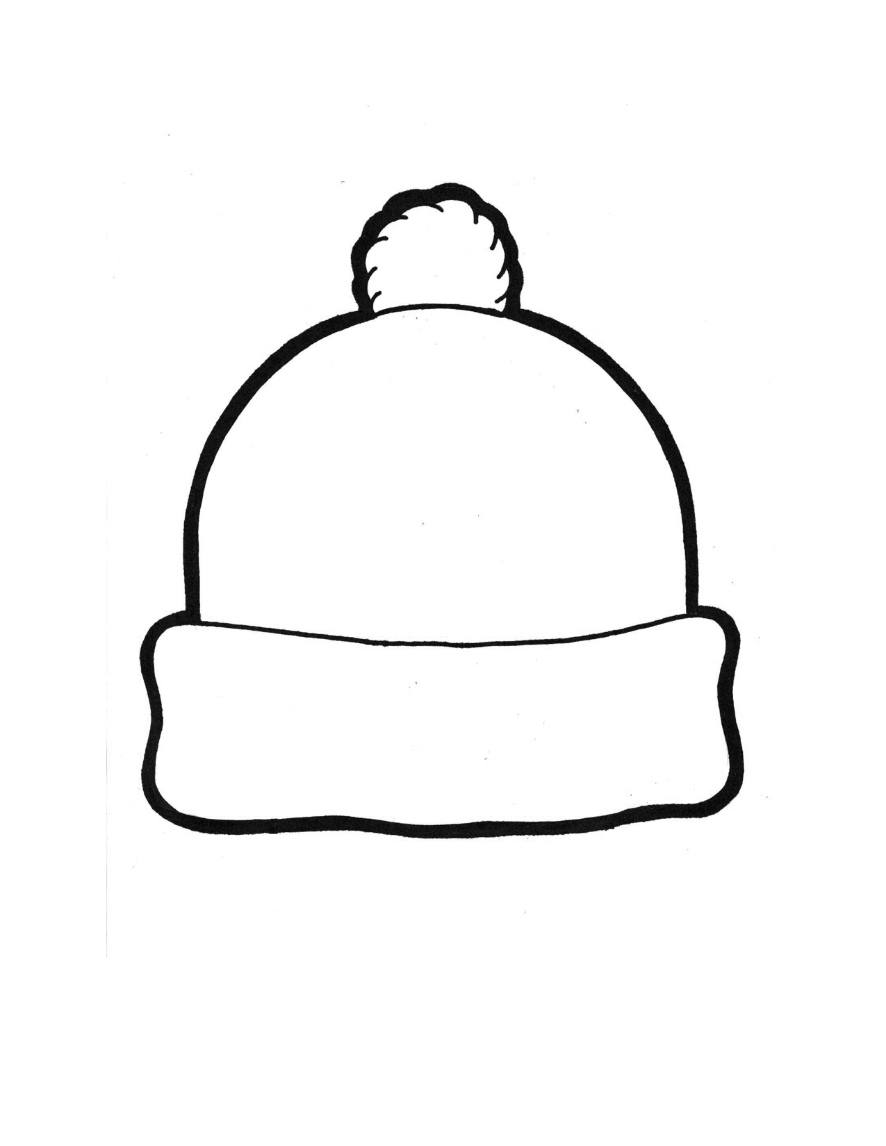 Winter Hat Template By Kellys3ps