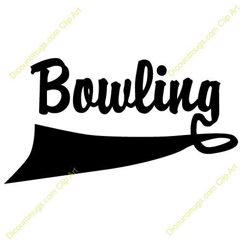 Bowling Party Clip Art