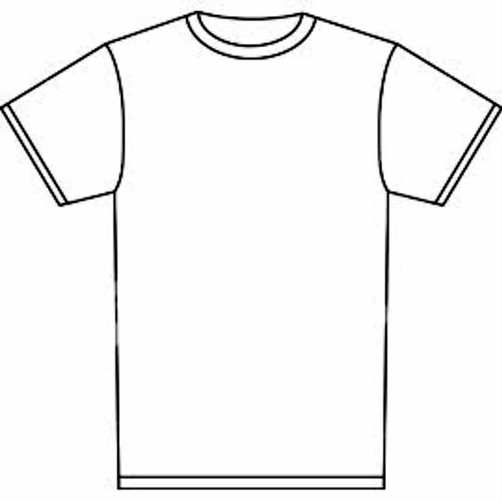 White T-shirt Clipart - Clipart Kid