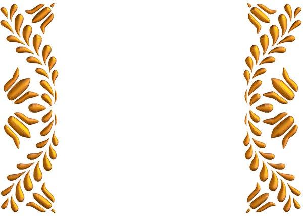 Elegant Gold Border Clipart - Clipart Kid