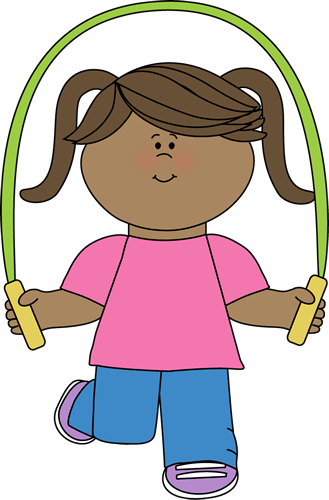 Jumping Clipart Jump Clipart Girl With Jump Rope Png