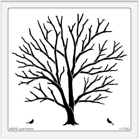 Leafless Tree Outline   Clipart Best