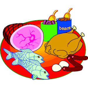 Meat   Fish 2 Clipart Cliparts Of Meat   Fish 2 Free Download  Wmf