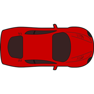 Red Racing Car Top View Clipart Cliparts Of Red Racing Car Top View